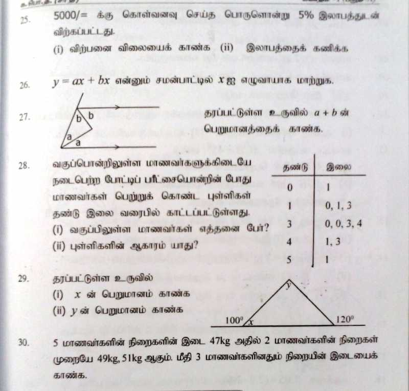 ol exam Sri lanka o/l past papers,past papers,gce ol past papers.