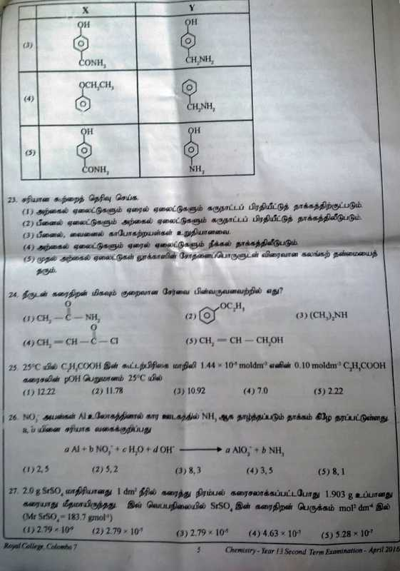 Royal College Model exam papers 2011 Al Batch
